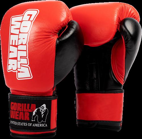 Gorilla Wear Ashton Pro Bokshandschoenen - Rood/Zwart