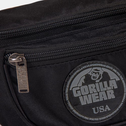 Gorilla wear fanny pack black 4