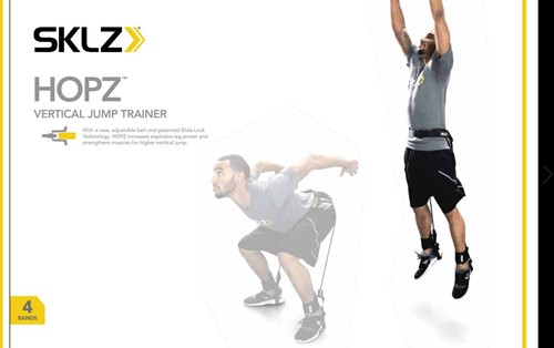 SKLZ Hopz Sprongtrainer Verpakking