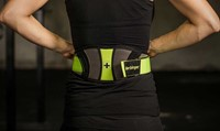 Harbinger Womens contoured flexfit belt 6