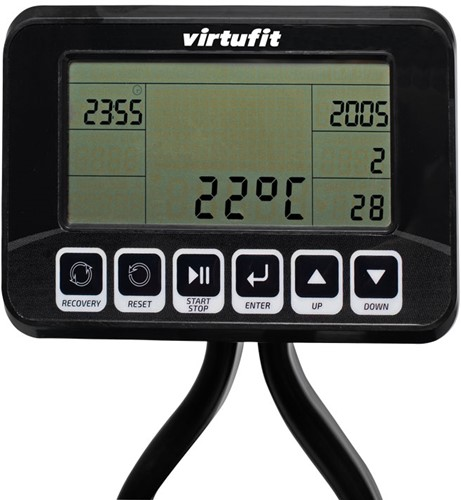 VirtuFit foldable resistance row 900 roeitrainer console