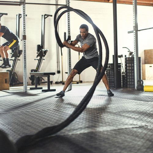 SKLZ Training Battle Rope Pro 12 Meter-2