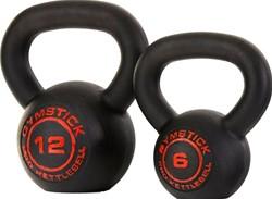 Gymstick Pro Neopreen Kettlebell - Zwart - Met Online Trainingsvideo's - 12kg