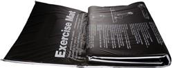VirtuFit Fitnessmat PVC 180 x 60 cm met oefeningen