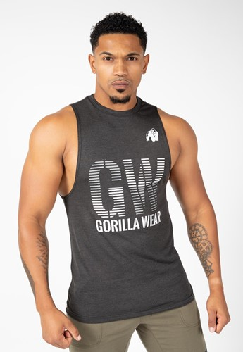 Gorilla Wear Dakota Mouwloos T-Shirt - Grijs