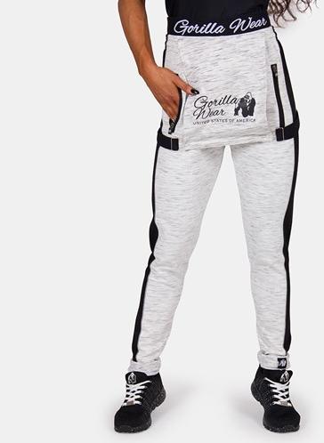 Gorilla Wear Dolores Dungarees - Grijs/Zwart