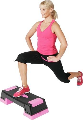 Stepper Fitness Gymstick aerobic stepper met trainingsvideo-2