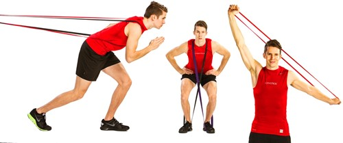 Gymstick Weerstandsband met Trainingsvideo - Light-3