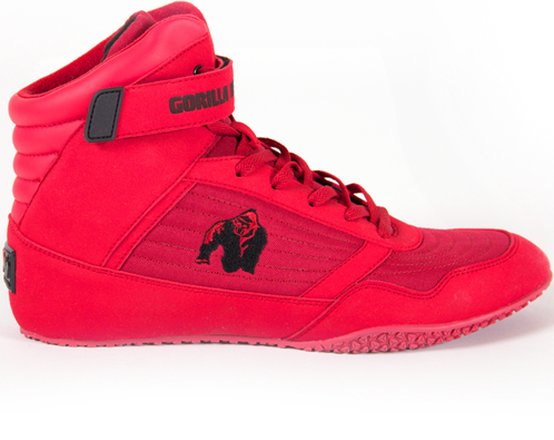 Gorilla Wear High Tops Fitness Schoenen - Rood