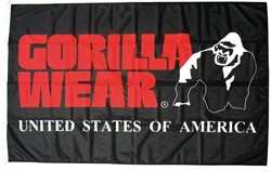 Gorilla Wear Indoor Flag