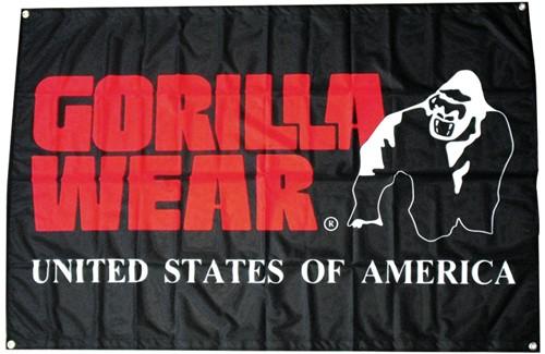 Gorilla Wear Outdoor Flag