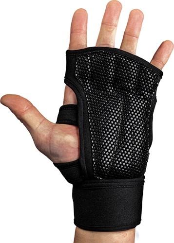 Gorilla Wear Yuma Fitness Handschoenen - Zwart