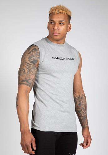 Gorilla Wear Sorrento Mouwloos T-shirt - Grijs