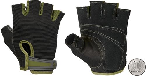 Harbinger Men's Power StretchBack Fitness Handschoenen - Groen