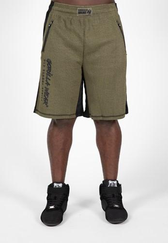 Gorilla Wear Augustine Old School Shorts - Legergroen
