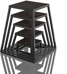 Gymstick Plyobox Zwart - 60 cm