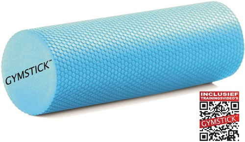 Gymstick Active Compact foam roller 30 cm - Met Trainingsvideo