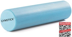 Gymstick Active foam roller 60 cm - Met Trainingsvideo's
