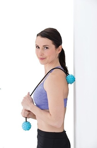 Gymstick Active massage rope ball-2