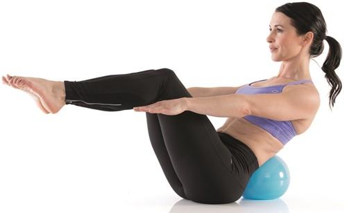 Gymstick Active Pilates bal 20cm - Met Online Trainingsvideo