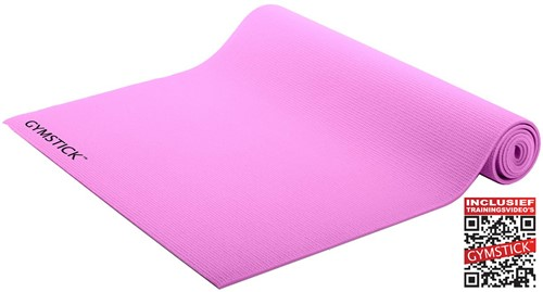 Gymstick Active training mat - Roze - Met Online Trainingsvideo's