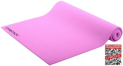 Gymstick Active Yogamat - Roze - Met online trainingsvideo's