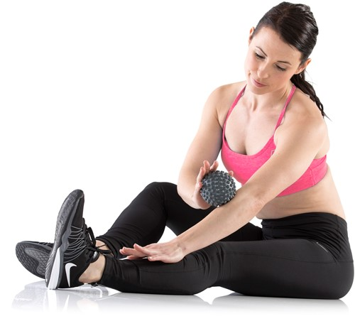 Gymstick Massage bal (9,5cm) - Met Online Trainingsvideo