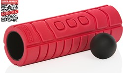 Gymstick Travel Foam Roller met Myofascial Bal en Trainingsvideo's