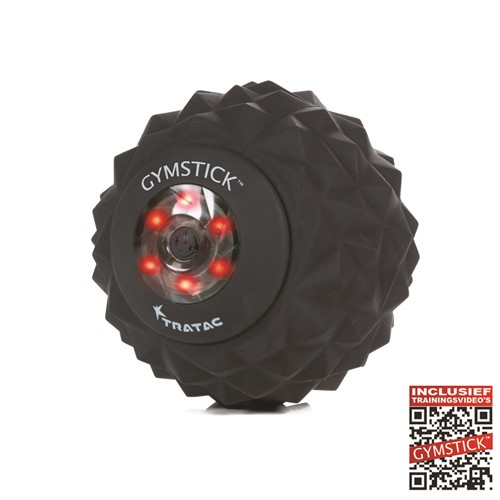 Gymstick Vibration Fascia Ball - Massage Bal - Met Online Trainingsvideo's