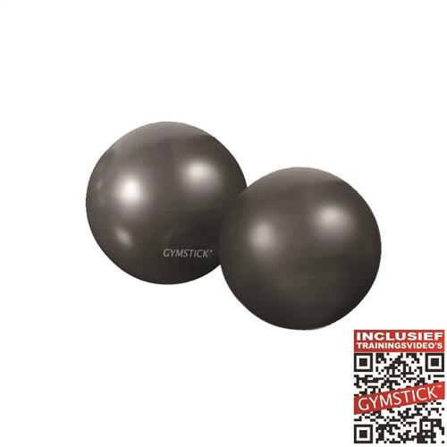 Gymstick Yoga Ballen - 2 x 1 kg - Met online trainingsvideo