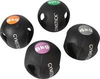 Gymstick medicijnbal met handvaten - 6 kg-2