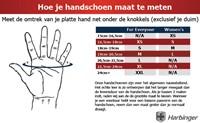 Harbinger Womens pro wash & dry 2 Fitness Handschoenen -  Black Pink-3