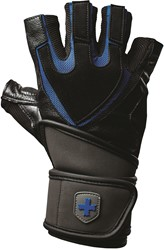 Harbinger Training Grip Gloves Black/Blue - XL