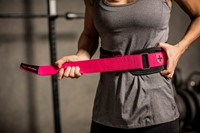 Harbinger Womens FirmFit Foam Core Nylon Belt-3
