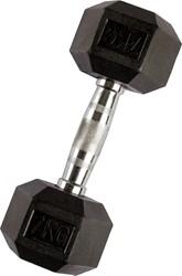 VirtuFit Hexa Dumbell - 7 kg - Per Stuk