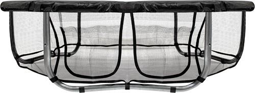 VirtuFit Trampolinerok met Opbergvak - Veiligheidsnet - 183 cm