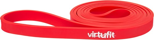VirtuFit Pro Power Band - Weerstandskabel - Fitness Elastiek - Extra Licht (15 mm) - Rood