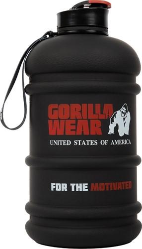 Gorilla Wear Water Jug - 2,2 l - Zwart