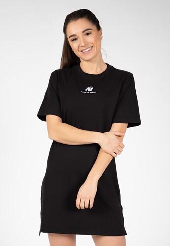 Gorilla Wear Neenah T-Shirt Jurk - Zwart