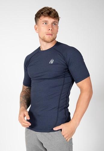Gorilla Wear Lewis T-Shirt - Marineblauw - S