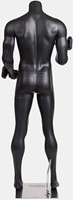 Gorilla Wear Male Muscular Mannequin Model 2 - Met Dumbbells-2
