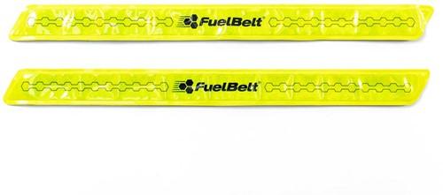 Fuelbelt Neon Snap Bands Reflectiebanden - Geel-2