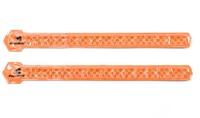 Fuelbelt Neon Snap Bands Reflectiebanden - Oranje-2