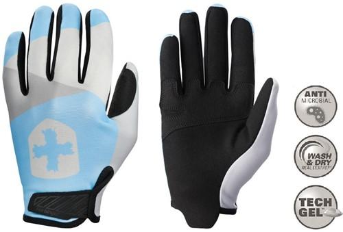 Harbinger Women's Shield Protect Fitness Handschoenen - Blauw/Grijs