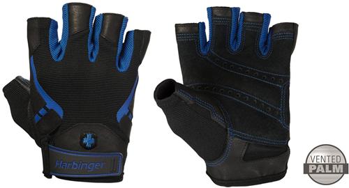 Harbinger Men's Pro Fitness Handschoenen - Blauw