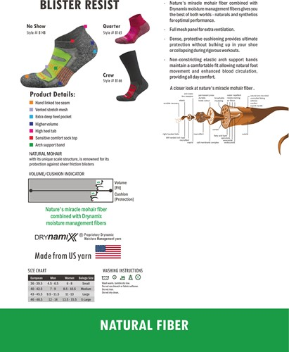 Balega Blister Resist Quarter Sportsok Paars/Roze-3