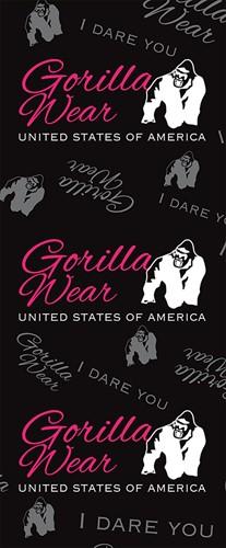 Gorilla Wear Roll Up Banner Women's Logo - 85x200cm-2