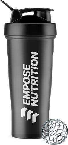 Empose Nutrition Shake Beker - 600 ml - Black