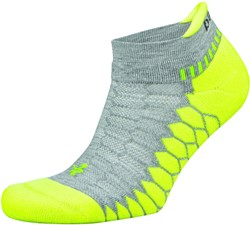 Balega Silver Sportsok Grijs/Lime groen - XL