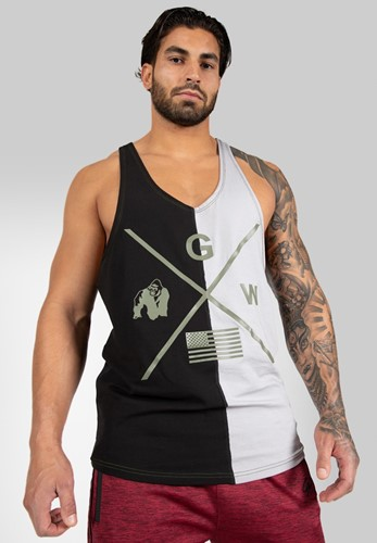 Gorilla Wear Sterling Tank Top - Zwart/Grijs